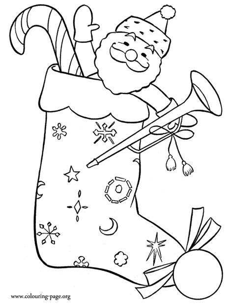 christmas picture outline outline coloring home