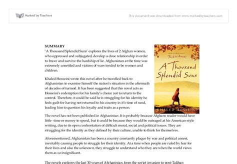 a thousand splendid suns themes essay thesis on a thousand splendid suns writefiction581 web