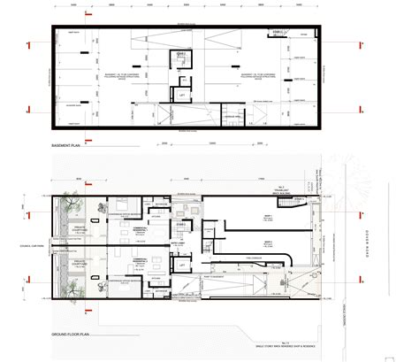 how to draw a basement floor plan gallery of rose bay apartments hill thalis architecture 28