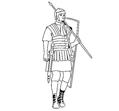 roman soldier coloring page coloringcrew com