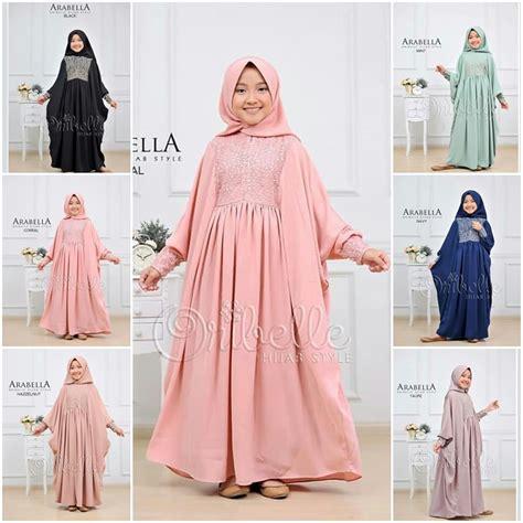 pakaian hijab murah arabella kids grosir baju muslim