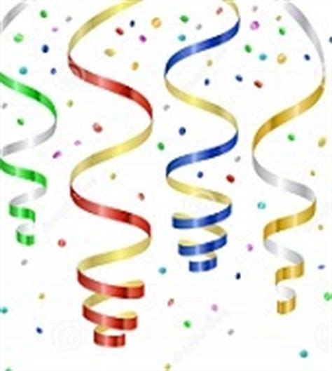new years streamers free new year and new year s clipart