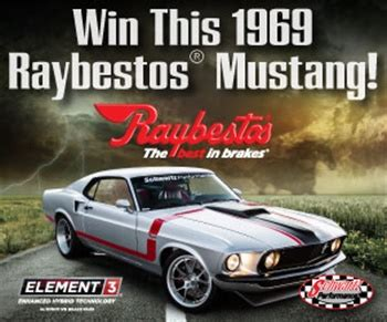 Raybestos Mustang Giveaway - deadline extended for raybestos 69 mustang sweepstakes automotive service professional