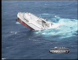 sinking boat gif oceanos sinking sinks ideas