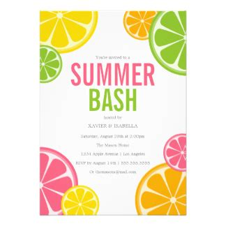 summer soiree invitations announcements zazzle co nz