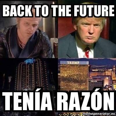 Al Meme - memes de volver al futuro imagenes chistosas