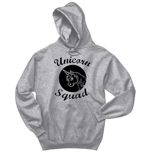 Unicorn Sweatshirt unicorn squad crewneck hooded sweatshirt bridesmaid