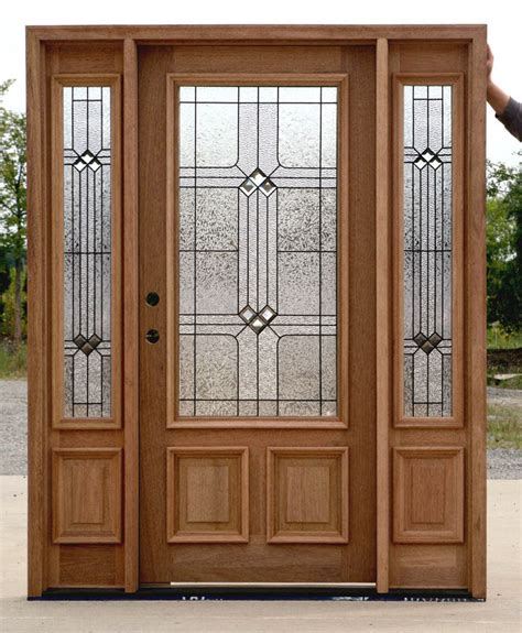 Door With Sidelights by Exterior Doors With Sidelights Builder Glass