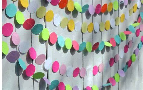 How To Make Decorations With Paper - birthday decorations with paper
