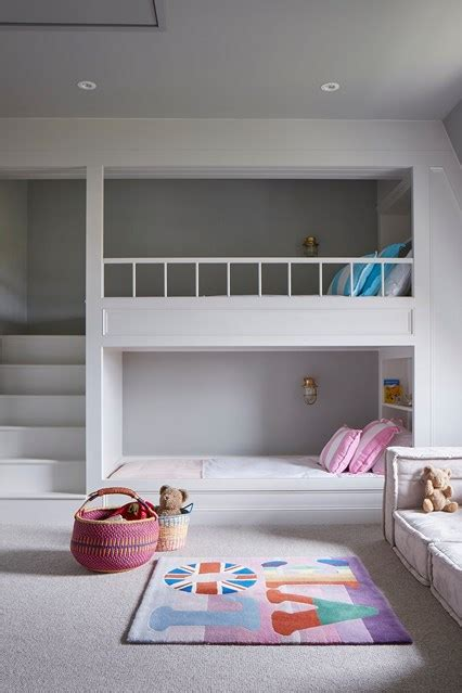 kid bedroom ideas built in bunk beds bedroom ideas houseandgarden co uk
