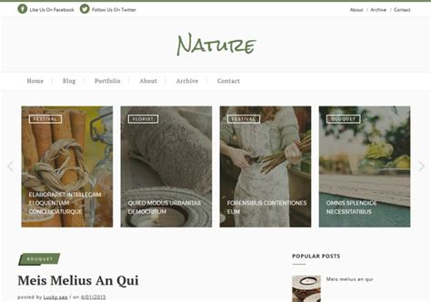 nature templates for blogger nature classic blogger template 2015 free themes