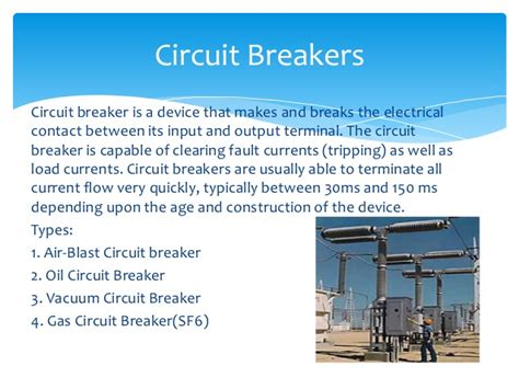 use of pre resistor in circuit breaker mejia thermal power station seminar