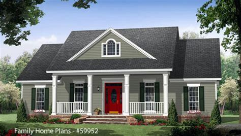 County House Plans country home designs country porch plans country style