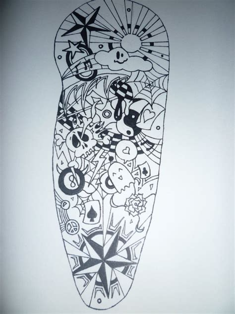 tattoo drawing for men mens drawings sleeve tattoos amazing
