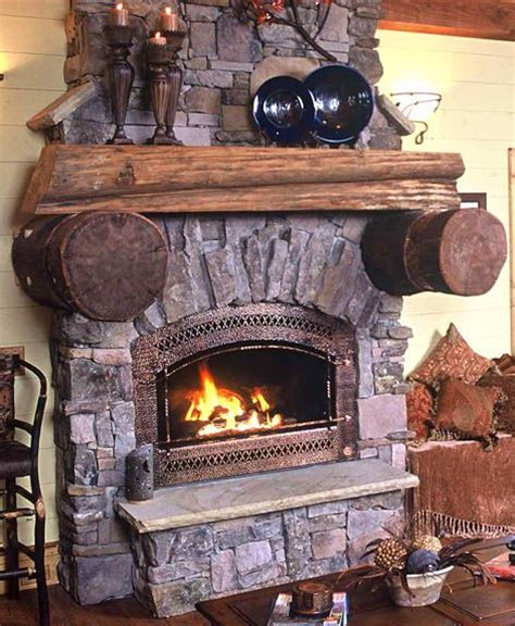 Cabin Fireplace Mantels by 95 Best Images About Fireplace Mantle Decorating Ideas On