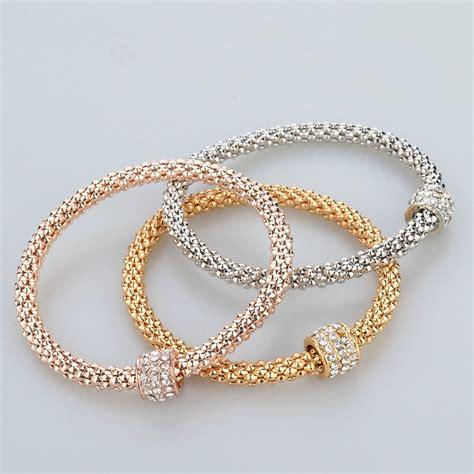 Fashion Bracelet Gold 2016 fashion jewelry bracelets bangles gold silver