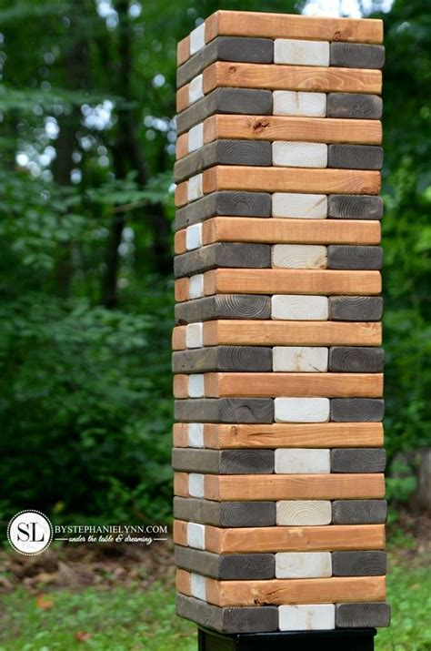 backyard jenga game 1000 images about games on pinterest game tables yard