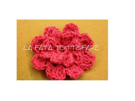 fiore uncinetto tutorial tutorial fiore uncinetto flower crochet my crafts and