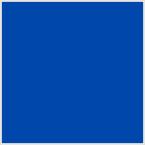 blue hex color 0047ab hex color rgb 0 71 171 blue cobalt