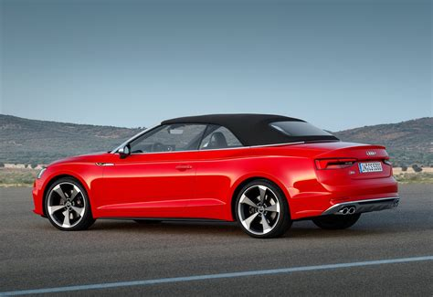 Audi Cabrios by Audi S New 2018 A5 Cabriolet Is Predictably Familiar