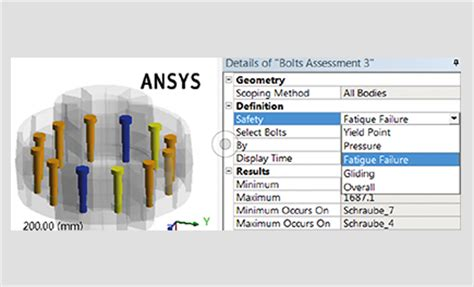 Cadfem Ansys Extensions Bolt Assessment Inside Ansys Cadfem