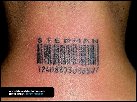 hitman barcode tattoo barcode by bluedolphintattoo on deviantart