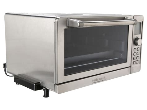 Toaster Oven Temperature Control Cuisinart Tob 135 Deluxe Convection Toaster Oven Broiler