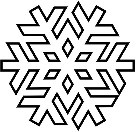 Snowflakes Coloring Page Barriee Snowflakes Printable Coloring Pages