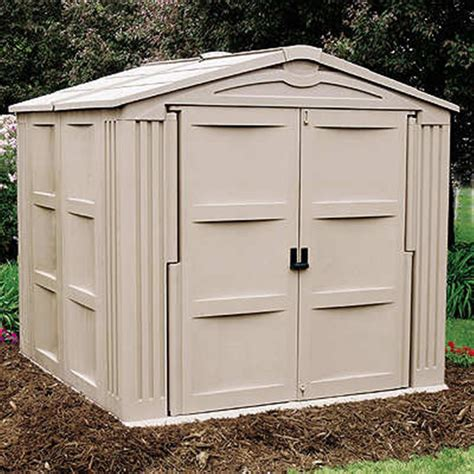 7 By 7 Shed by Suncast 174 Storage Building 7x7 138471 Patio Storage At