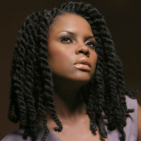 Hair Styles For Crochet Two Finger Twist | marley braids black zulu