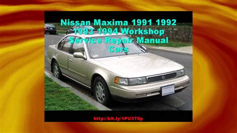 best auto repair manual 1992 nissan maxima navigation system nissan maxima 1991 1992 1993 1994 workshop service repair manual cars youtube