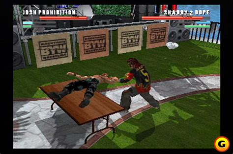 backyard wrestling video game backyard wrestling there goes the neighborhood event in