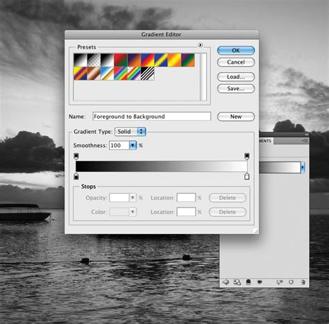photoshop cs5 gradient map tutorial how to create a sunset effect in photoshop photoshop