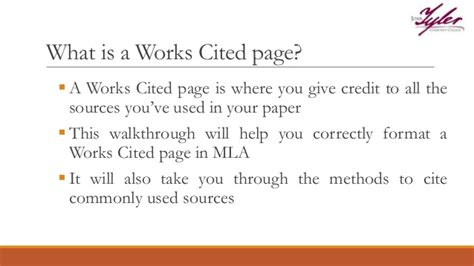 how to do a work cited page mla resumess franklinfire co