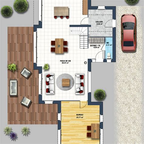 constructeur maison contemporaine st gilles croix de vie maison moderne vide sur s 233 jour st gilles croix de vie