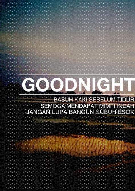 ucapan selamat malam  selamat tidur  bahasa