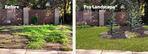 residential landscape renovation pro landscape design