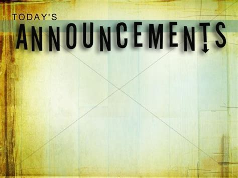 Church Announcements Announcement Backgrounds Sharefaith Page 4 Church Announcements Template Powerpoint