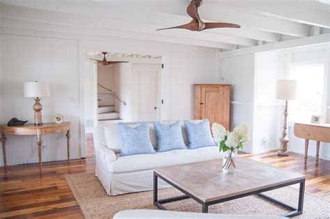 houzz ceiling fans Living Room Farmhouse with area rug