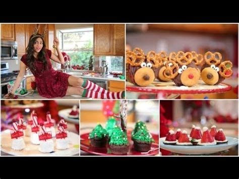 easy yummie desserts for christmas party by six sisters easy diy treat recipes bethany mota beautylish