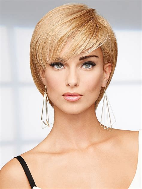 hair bangs tucked ear success story wig by raquel welch 100 human hair wigs