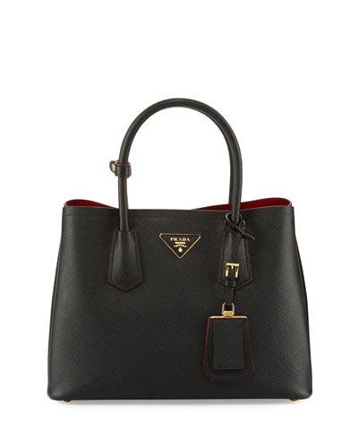 Prada Saffiano Prada Saffiano Mini Tas Prada prada handbags totes shoulder bags at bergdorf goodman