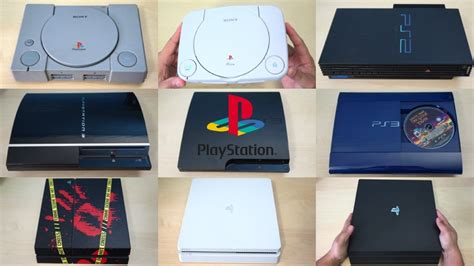 play station console the evolution of playstation consoles