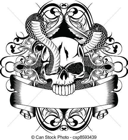 vetor de dois cavaleiros imagens de stock royalty free vetor eps de dois cranio cobra vetorial ilustra 231 227 o