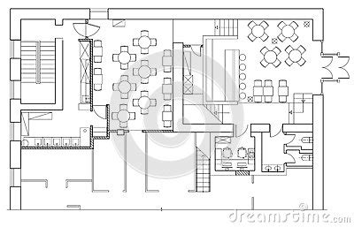 office floor plan icons standard office furniture symbols on floor plans stock vector image 72013889