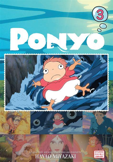 Ponyo Comic Vol 2 ponyo comic vol 3 book by hayao miyazaki