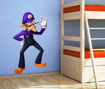 Tokomonster Mario Wall Decal Sticker Size 23 Inch waluigi mario bros decal removable wall sticker home