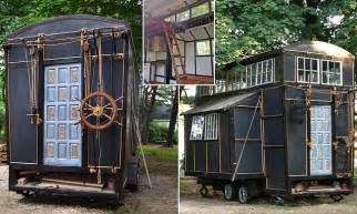 tiny houses movie couple s tiny house mansion was built entirely from