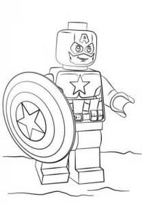dibujos colorear capitan america en lego habitaci 243 mis hijos capit 225