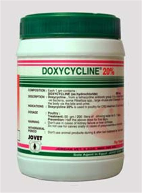 How To Detox From Doxycycline by Jovet Vet Agr Med Ind Co